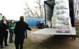 Dodávka materiální pomoci do záchranné stanice