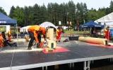 Lesníci z Lesů hl. m. Prahy se zúčastnili šampionátu v práci s motorovou pilou