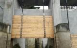 Výměna stavidel Hostivařské přehrady