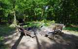 Kunratický les: piknikové místo na vyhlídce