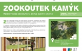 Rekonstrukce zookoutku Kamýk - informační cedule