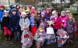 Sbírka pro ježčí pacienty v MŠ Na Balkáně