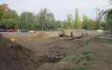 výstavba nového rybníka