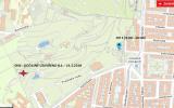 mapa s hřišti v zahradě Kinských