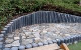 nová palisáda v zahradě Kinských