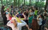 hra o výchově lesa