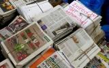 Sběr novin od žáků mateřských a základních škol