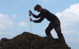 měření teploty kompostu