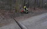 Pražští hasiči se cvičili v Krčském lese