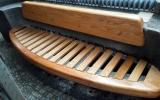 opravená lavička