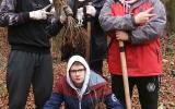 Sázení stromků v Havlově lese