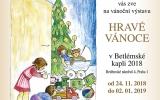 Pozvánka na vánoční výstavu v Betlémské kapli