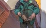 S odchytem poraněného dravce nám pomohla klec s křečkem, autor fotografie: Milan Artýszek