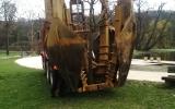 Přesazovací stroj ve Stromovce