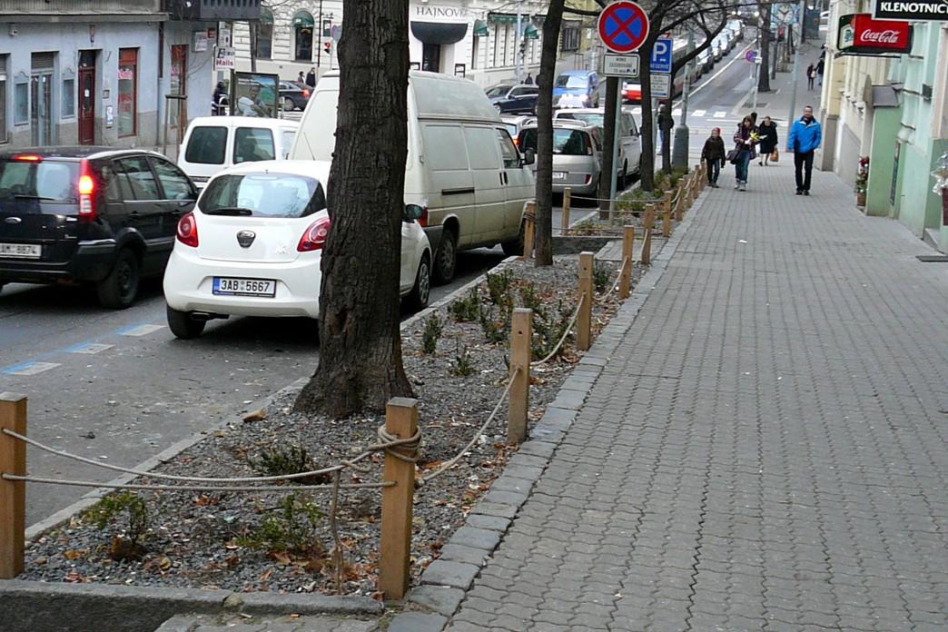 stromoradi Italska ulice