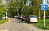Parkování na trávníku